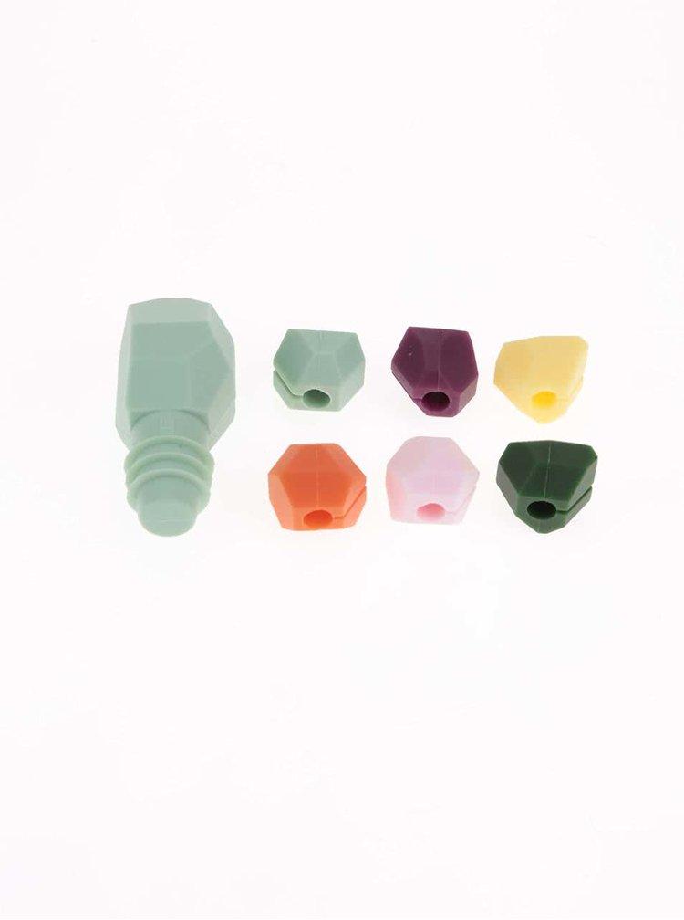 Set 7 figurine UMBRA Gem pentru pahare