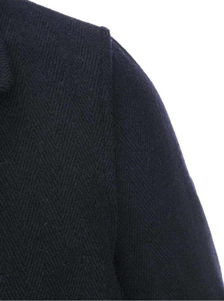 Tmavomodrý krátky kabát Ben Sherman