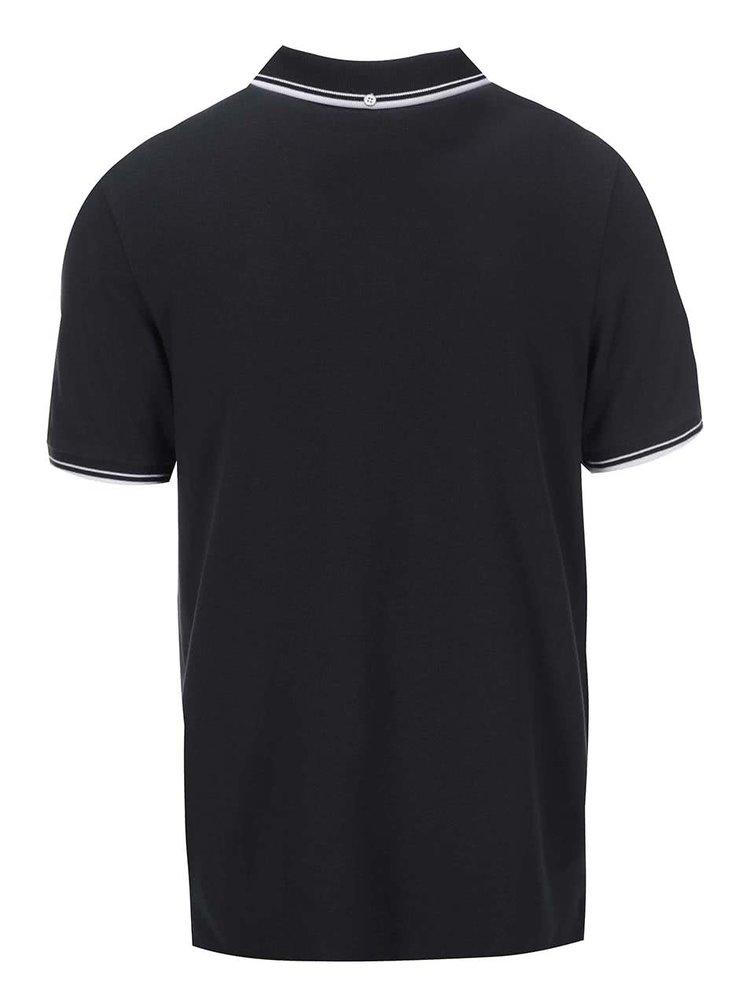 Černé polo triko Ben Sherman