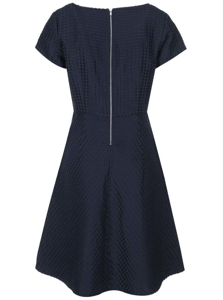 Tmavě modré šaty Fever London Yosu Prom