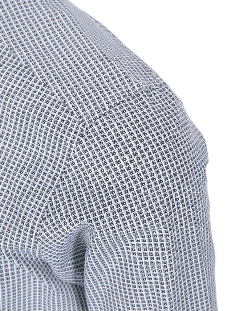 Cămașă pepit Oskar, de la Bertoni - negru și alb