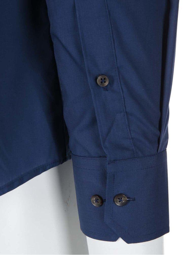Cămașă clasică Bertoni Slim Fit - albastră