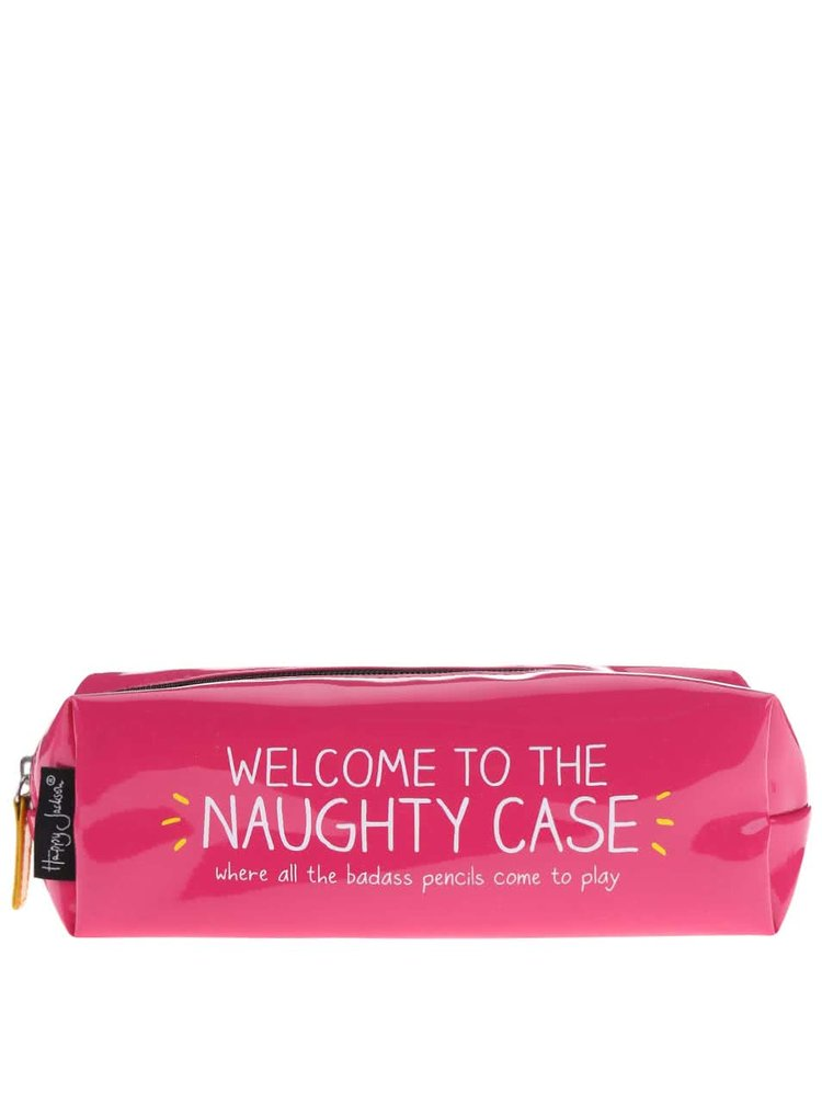 Ružový peračník Happy Jackson Naughty