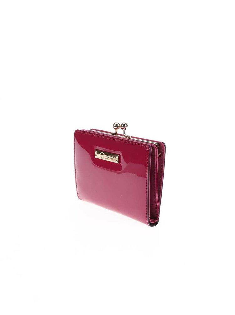 Fuchsiová peněženka Gionni Olive