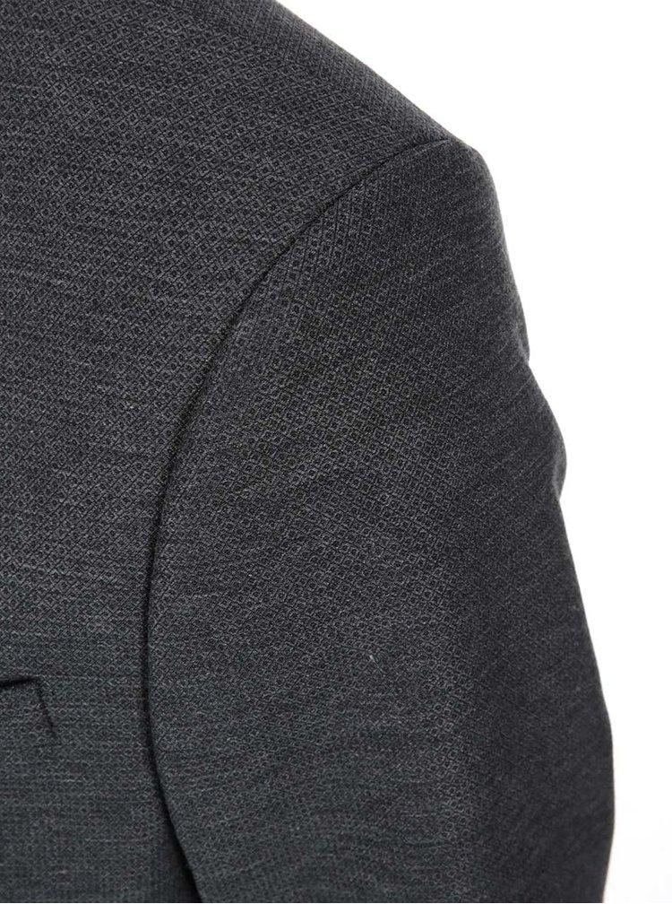 Tmavě šedý blejzr Bertoni Madsen