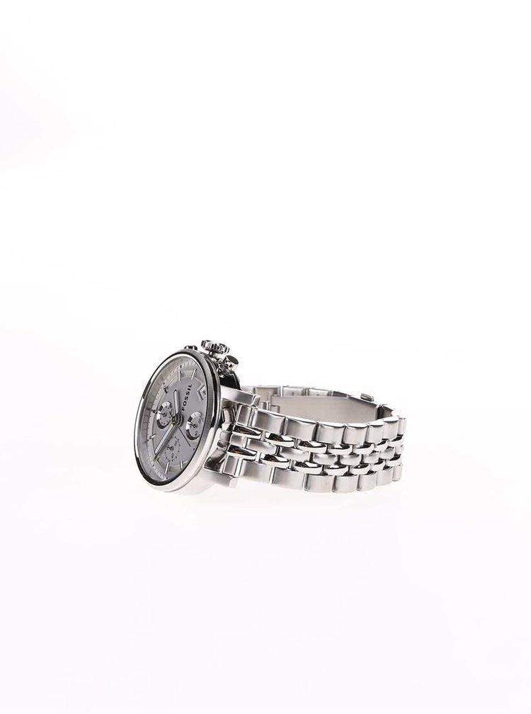 Dámské hodinky ve stříbrné barvě s nerezovým páskem Fossil Original Boyfriend