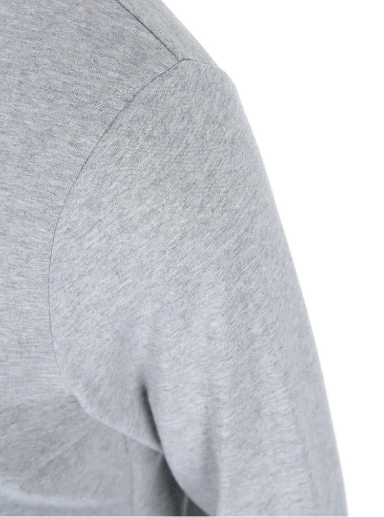 Sivé dámske tričko s dlhým rukávom ZOOT Originál Let It Grow