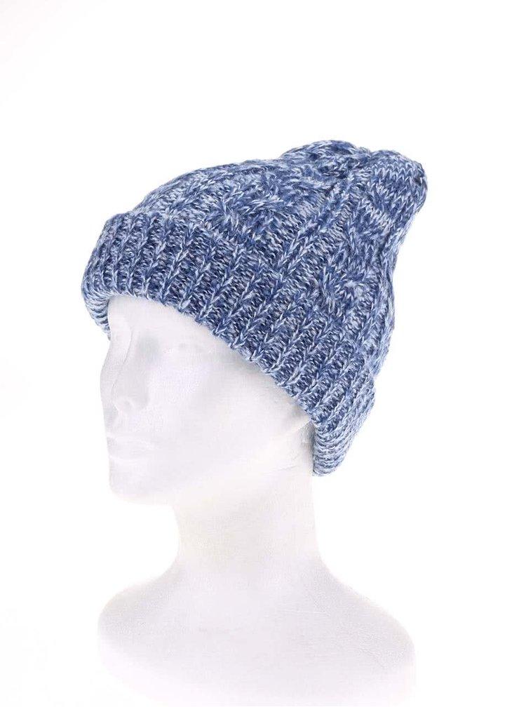 Modrá dámska žíhaná čiapka Burton Bone Cobra