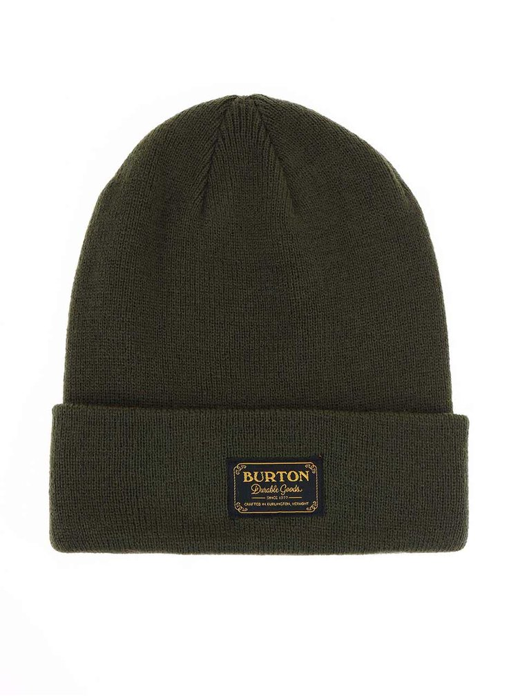 Zelená pánska čiapka Burton Kactsbnch