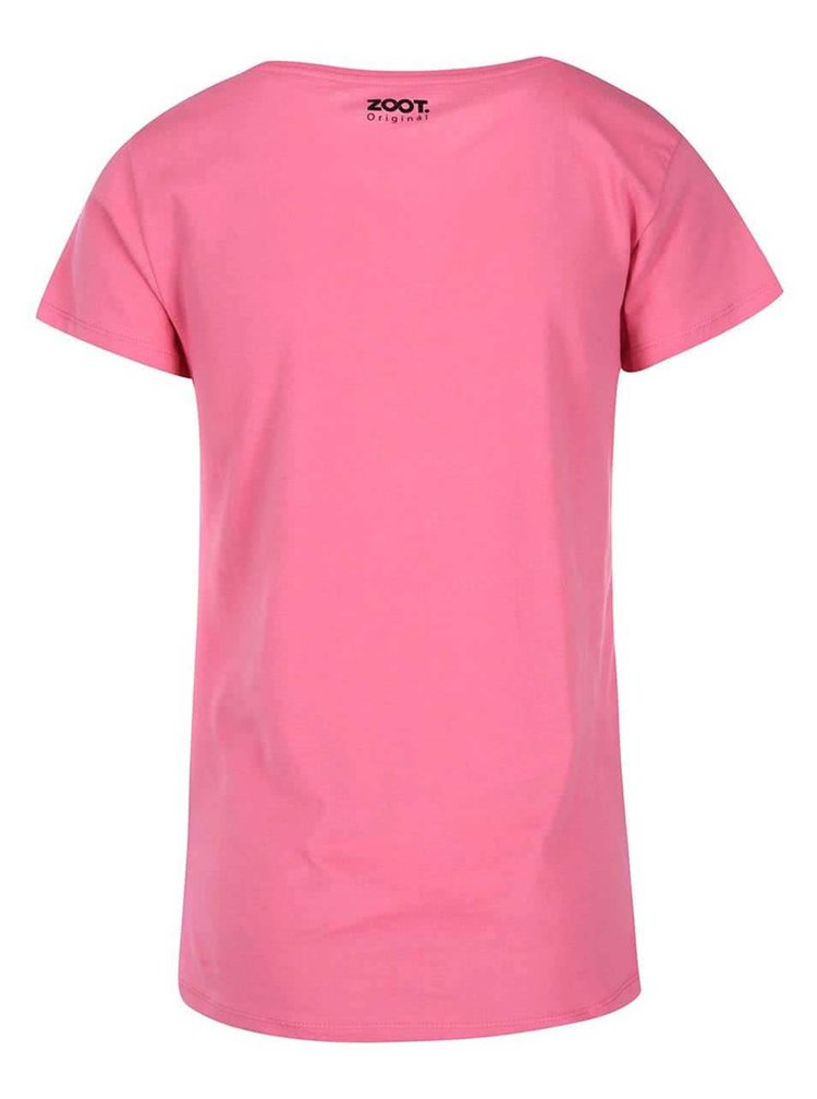 Ružové dámske tričko ZOOT Originál I Kissed