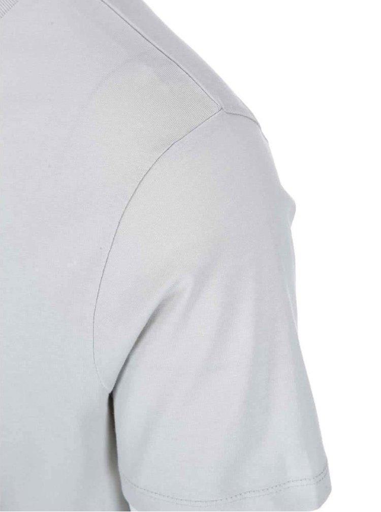 Sivé pánske tričko ZOOT Originál Plnovous