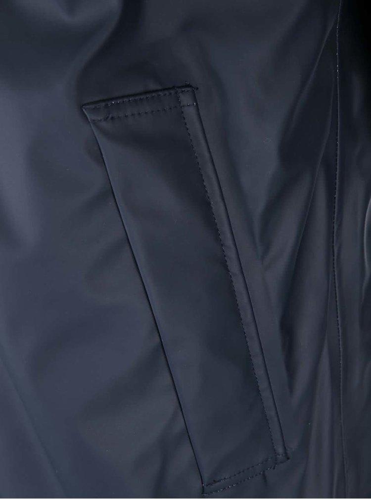 Tmavě modrá delší pláštěnka Selected Homme City