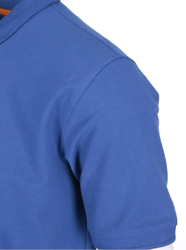 Tricou polo albastru Selected Homme Haro