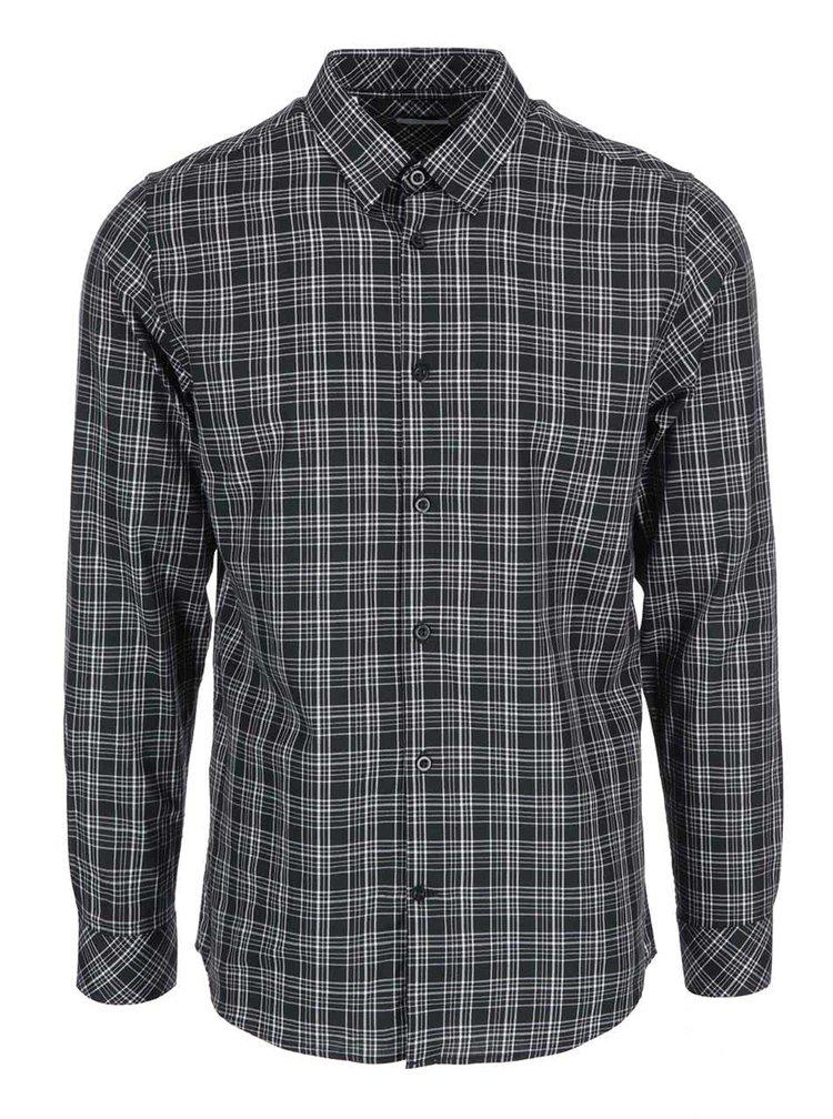 Černá kostkovaná košile Selected Homme Joe