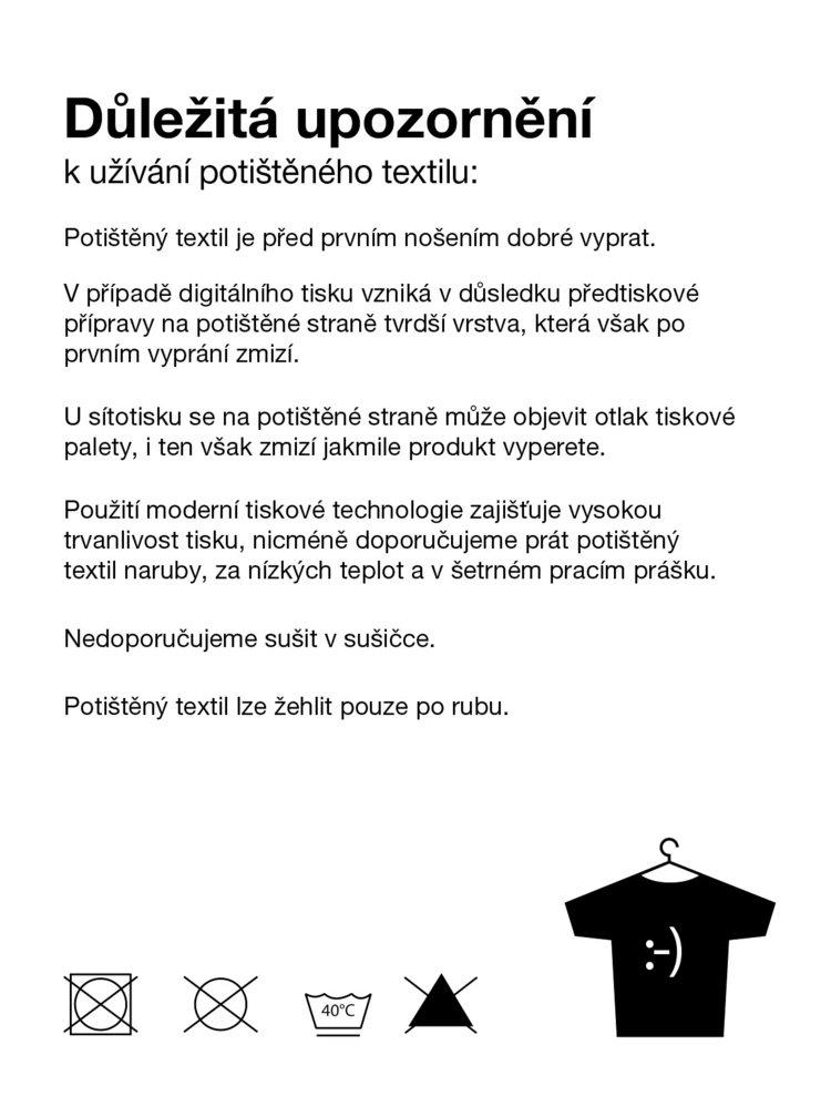 Krémové pánské triko ZOOT Originál Moustache Time