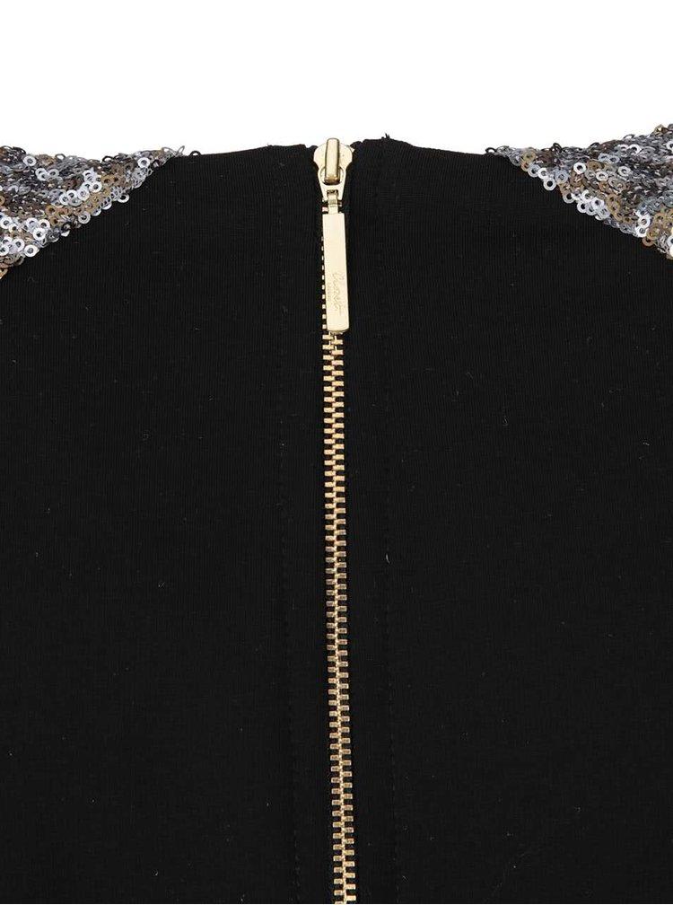 Rochie neagră cu paiete Closet