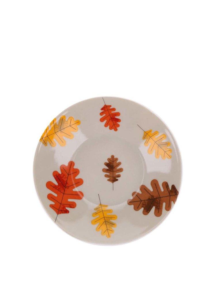 Porcelánová súprava štyroch farebných hrnčekov a podšálok s lesnou zverou Magpie Forrest Friends