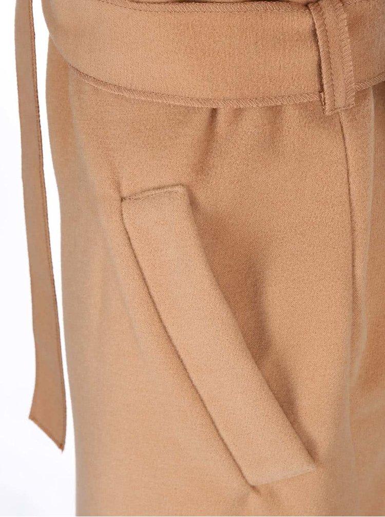 Béžová kabátová vesta SisterS Point Gamble