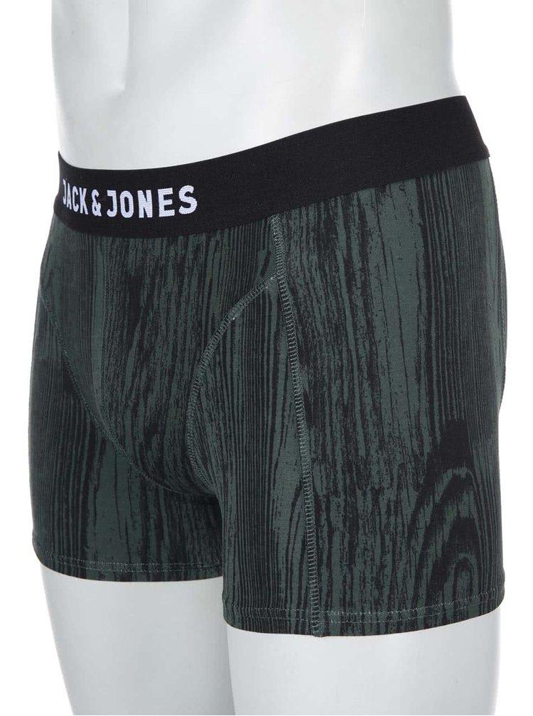 Boxeri cu model verde Mountain de la Jack & Jones