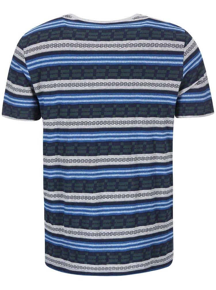 Farebné pruhované tričko Element Faber