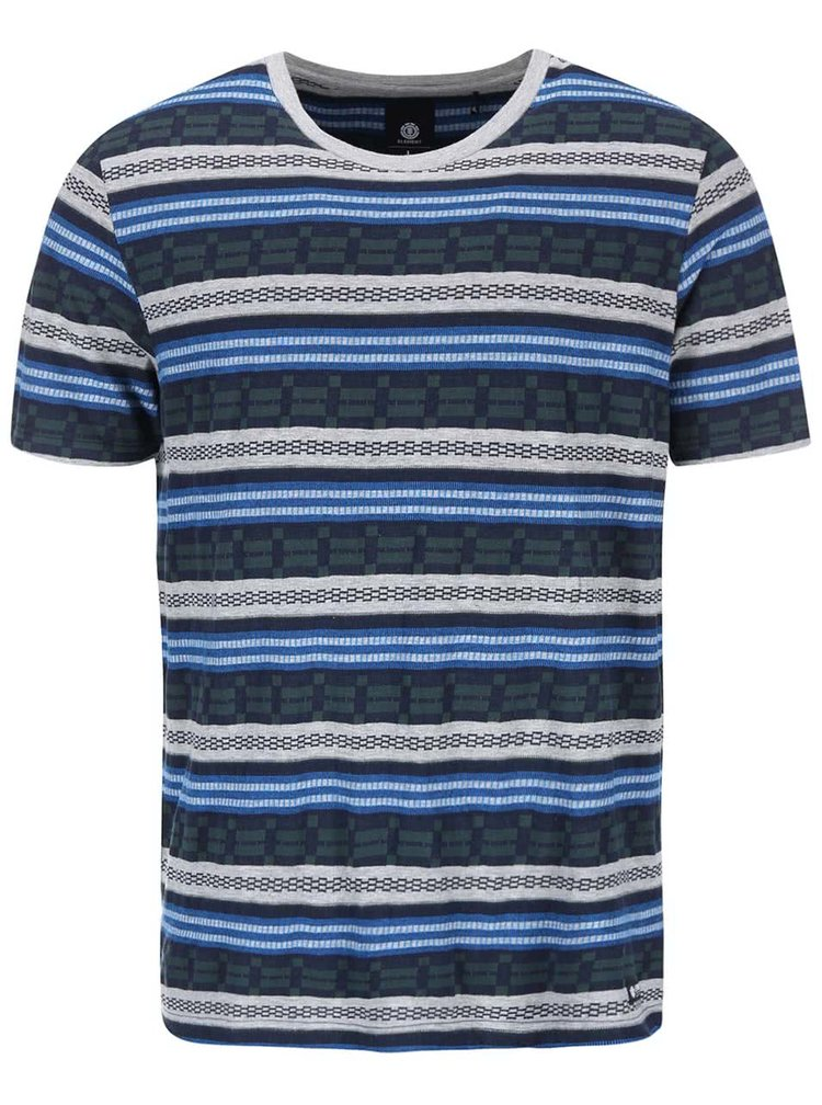 Barevné pruhované triko Element Faber