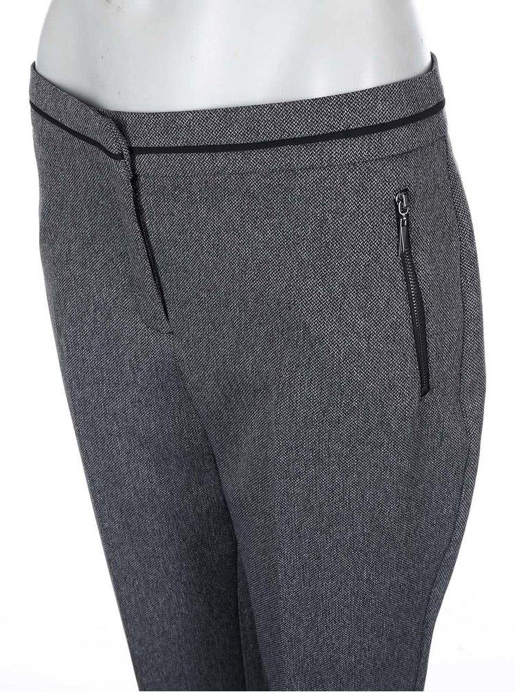 Šedé formální kalhoty nad kotníky Dorothy Perkins