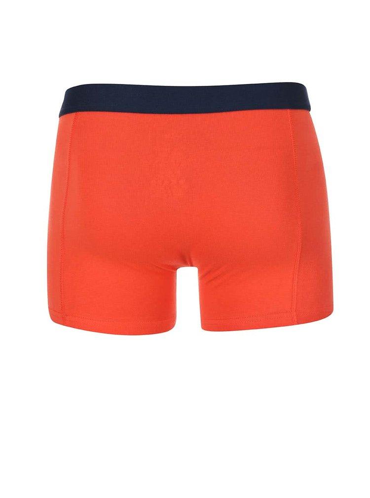 Kolekcia dvoch oranžových boxeriek Jacks