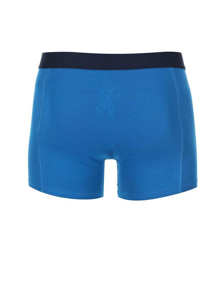 Sada dvou modrých a pruhovaných boxerek Jacks