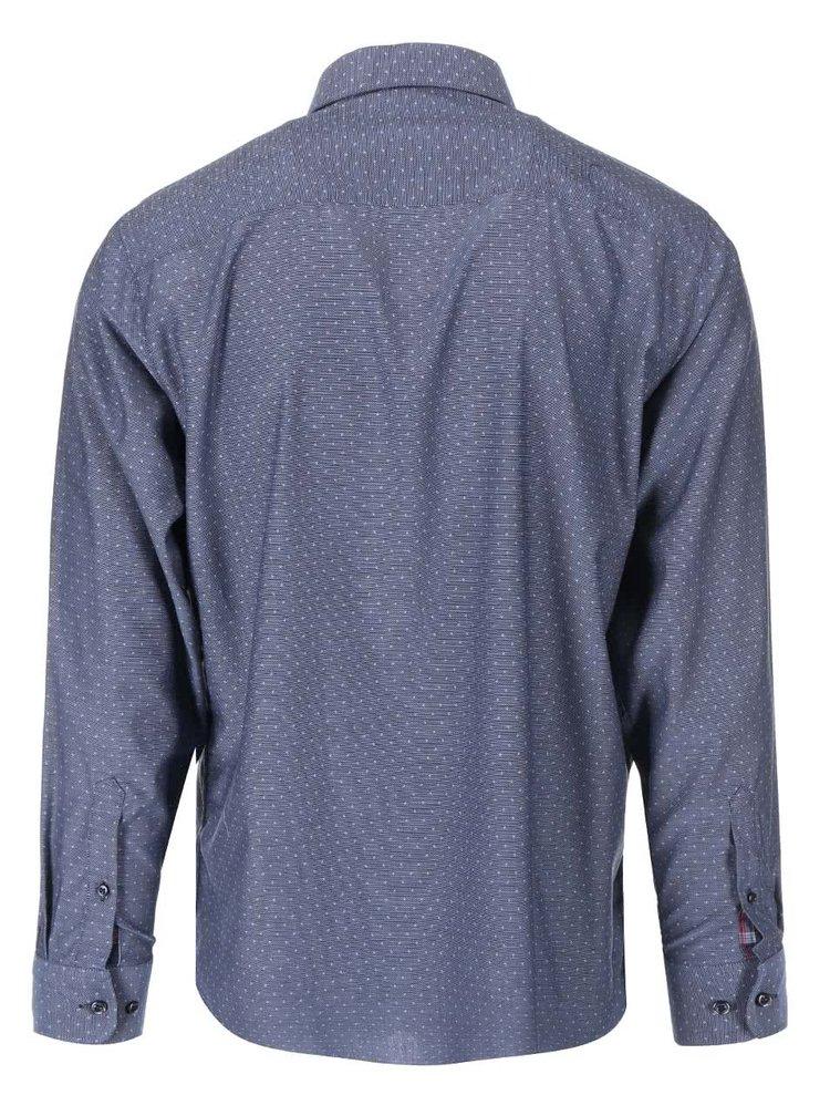 Sivomodrá košeľa s bodkami Jacks
