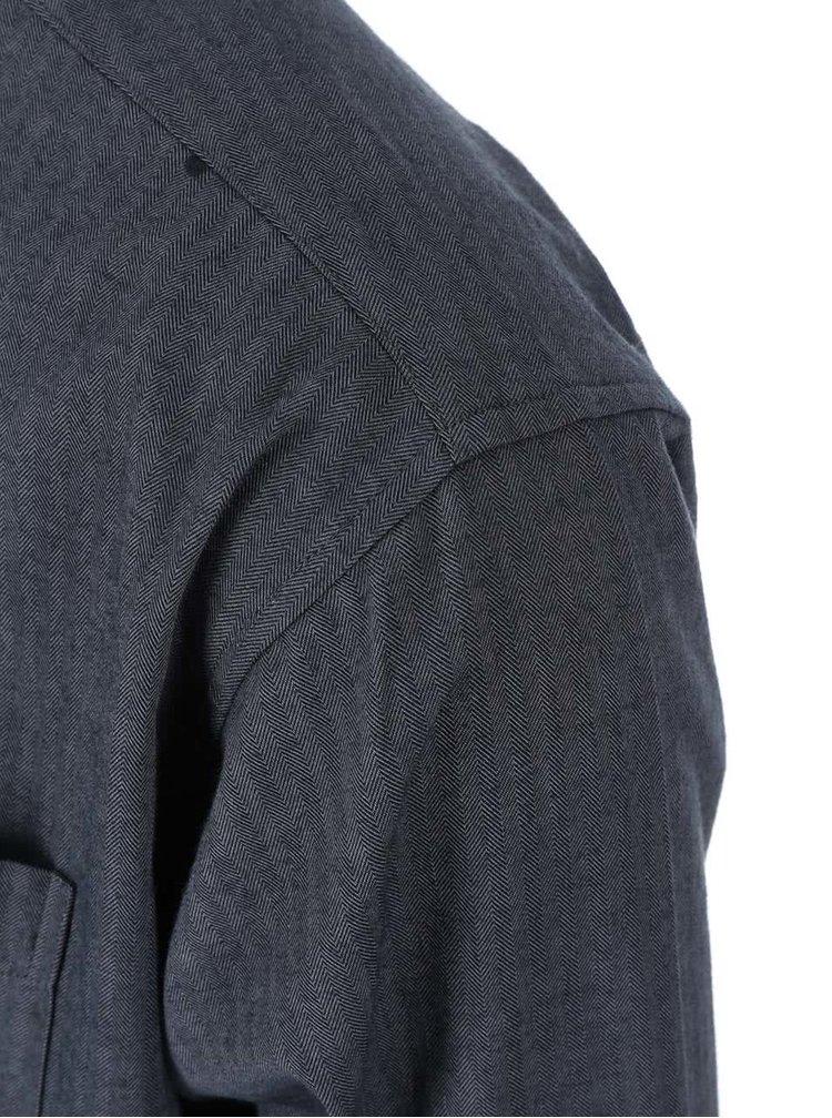 Tmavosivá košeľa Jacks