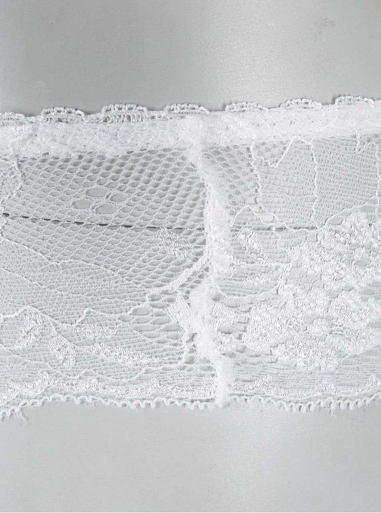 Bílé kalhotky Haily´s Lace