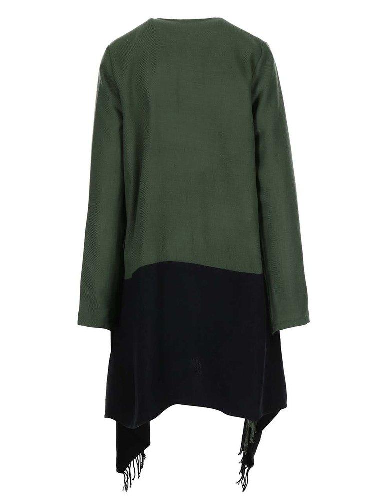 Čierno-zelený kardigán VILA Kaia