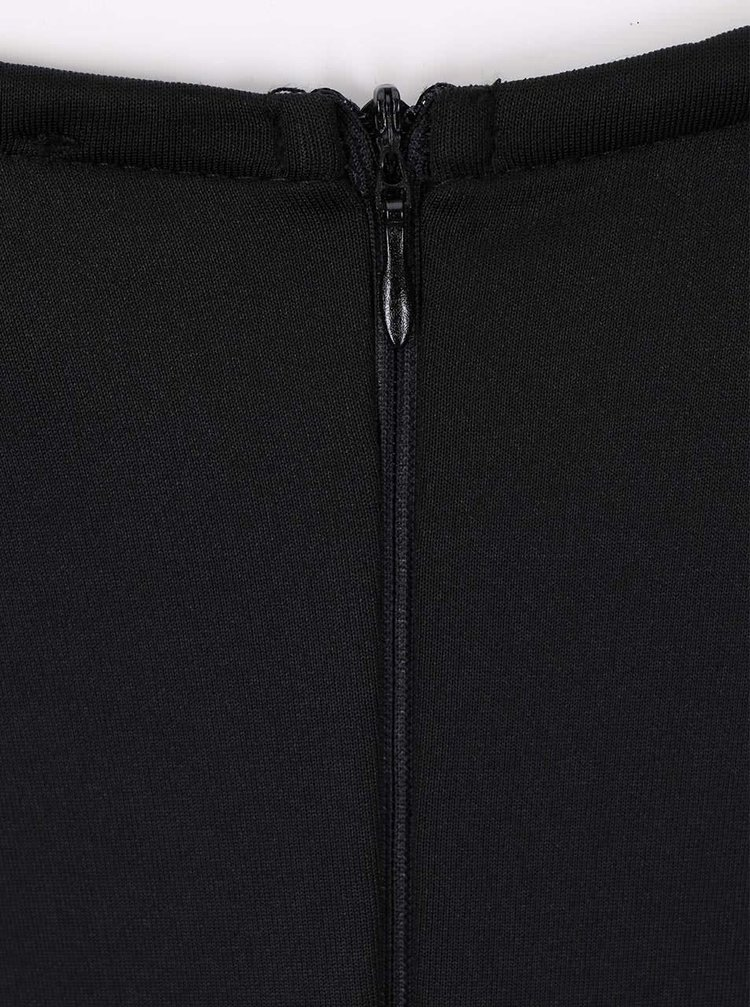 Rochie neagră bodycon AX Paris cu bretele