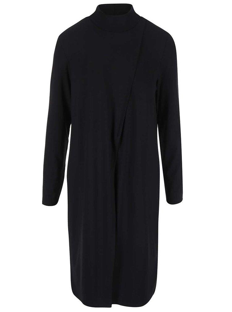Černé šaty s rolákem ONLY Fine