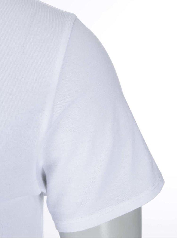 Sada tří bílých pánských trik pod košili Tommy Hilfiger