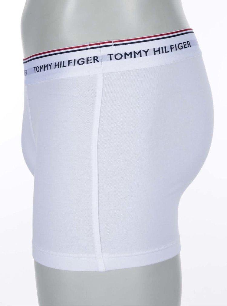 Sada tří boxerek v bílé barvě Tommy Hilfiger