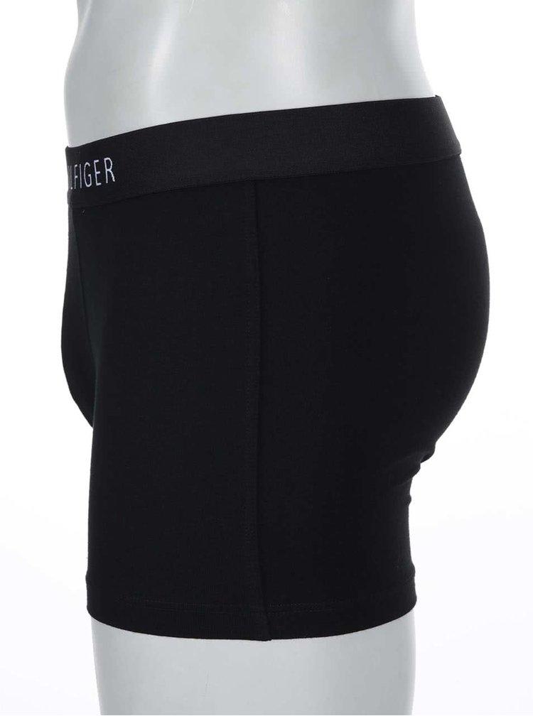 Černé bavlněné bokové boxerky Tommy Hilfiger