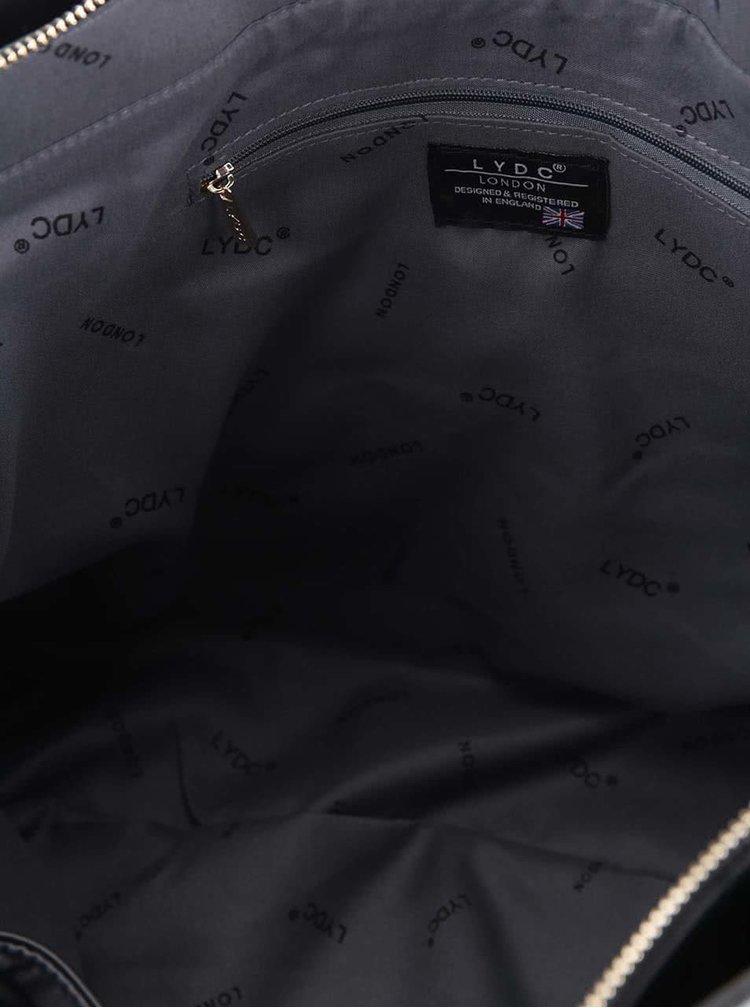Černo-modrá kabelka LYDC