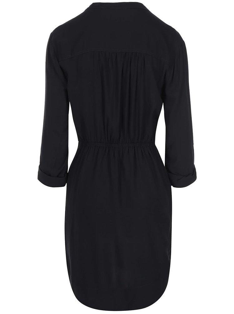 Čierne šaty na zips New Look