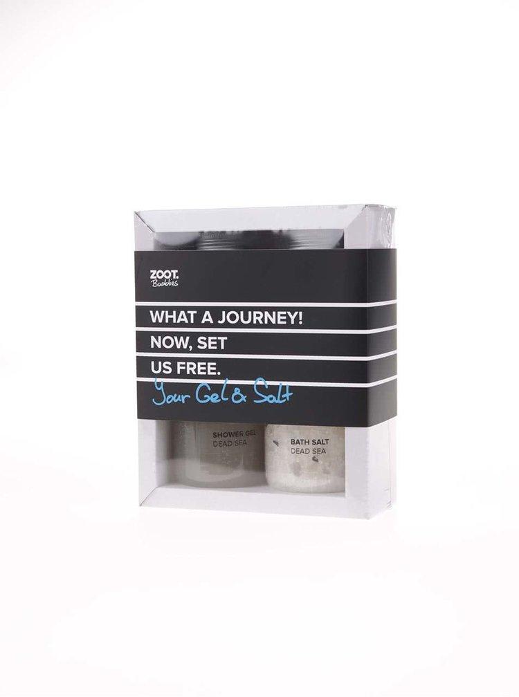 Set sprchového gelu a koupelové soli ZOOT Buddies Mrtvé moře