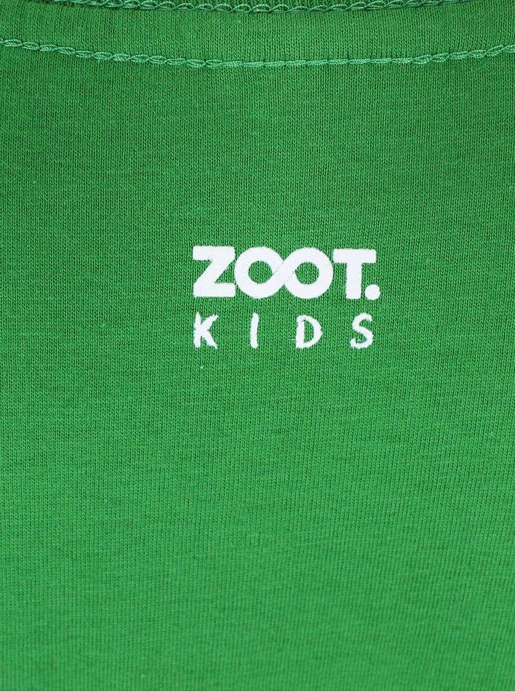 Zelené detské tričko ZOOT Kids Lištička