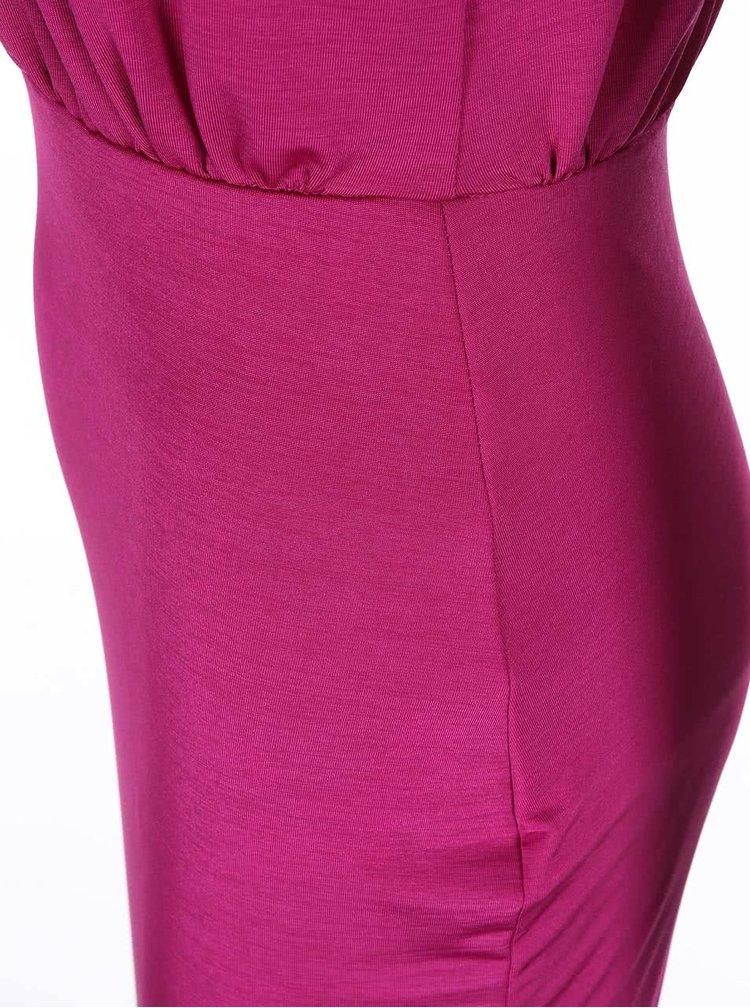 Růžové šaty se zdobením Lipstick Boutique Queenie