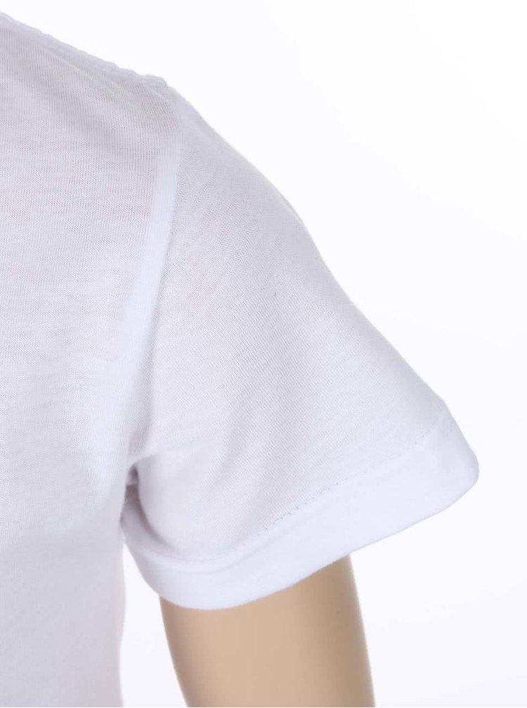 Biele chlapčenské tričko ZOOT Kids Kravata