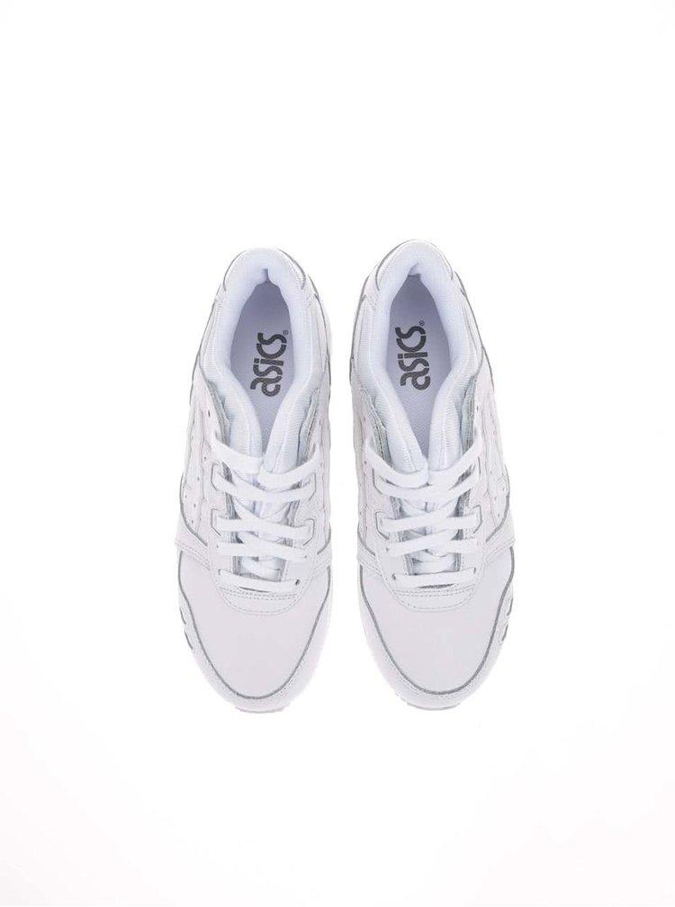 Biele dámske kožené tenisky ASICS Get Lyte III