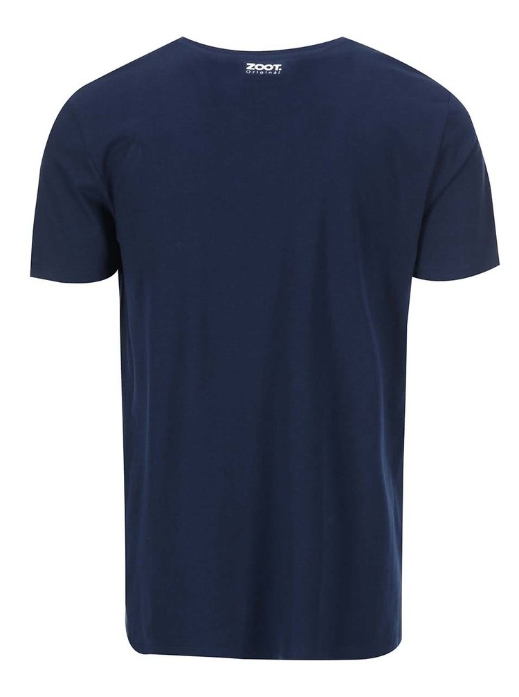 Modré pánske tričko ZOOT Originál Santa