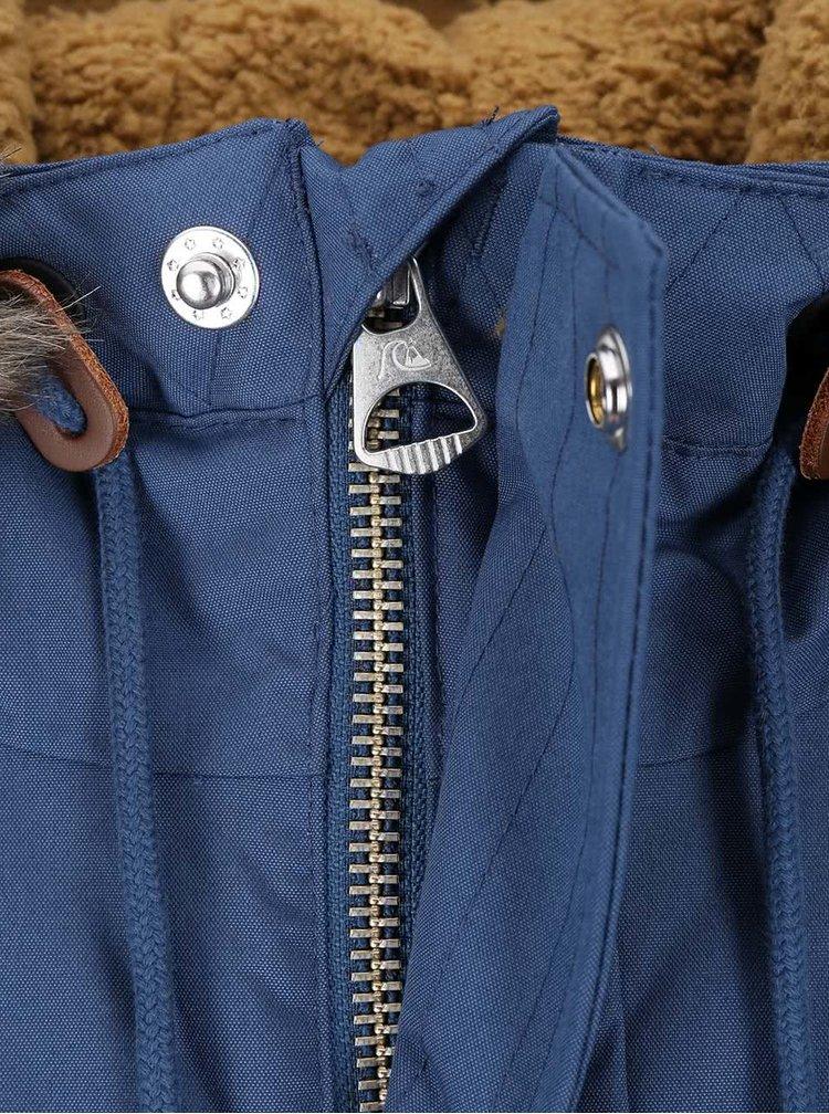 Jachetă albastră cu glugă Quicksilver Arris