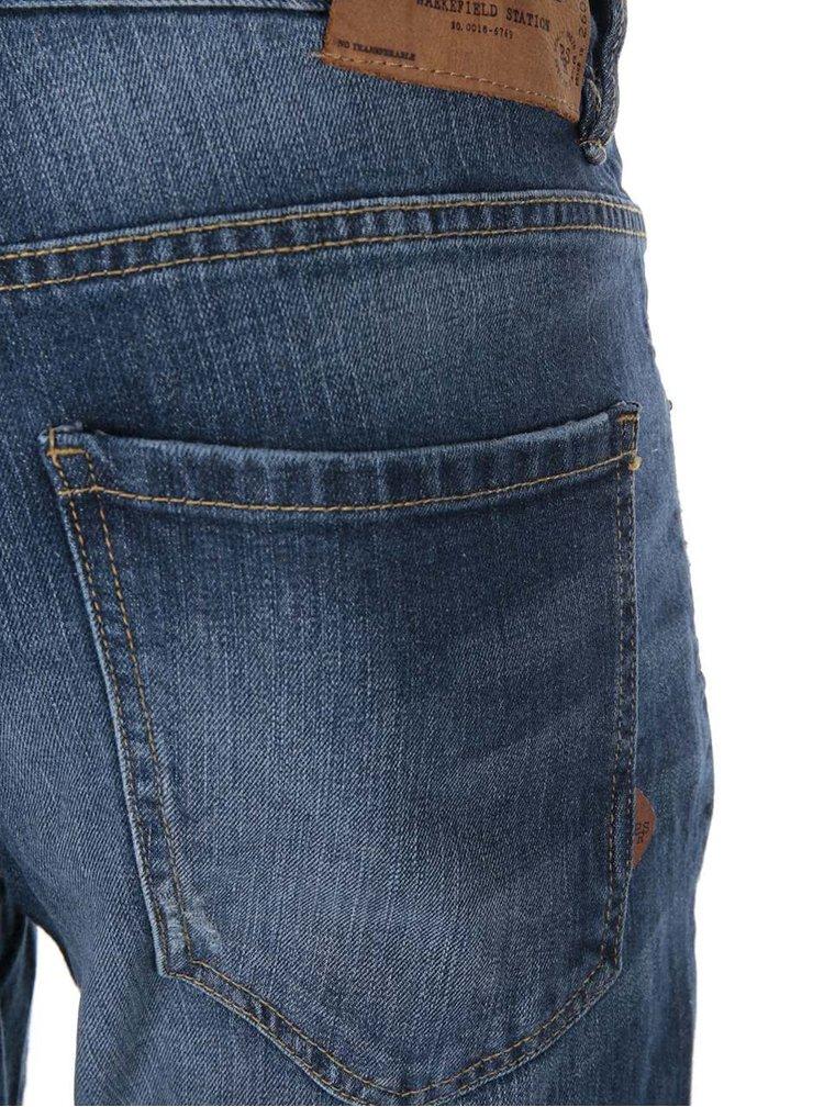 Tmavě modré džíny s ošoupaným efektem !Solid Dexter