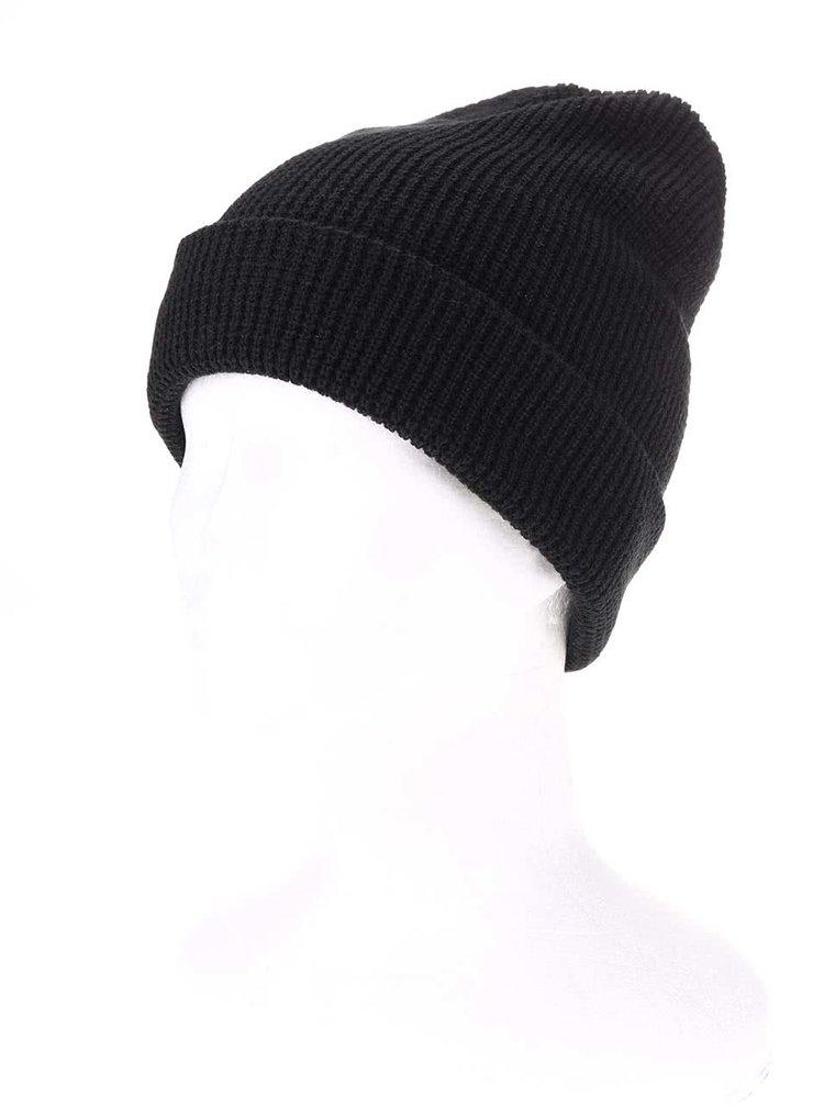 Čierna pánska čiapka s logom Rip Curl Wetsuits
