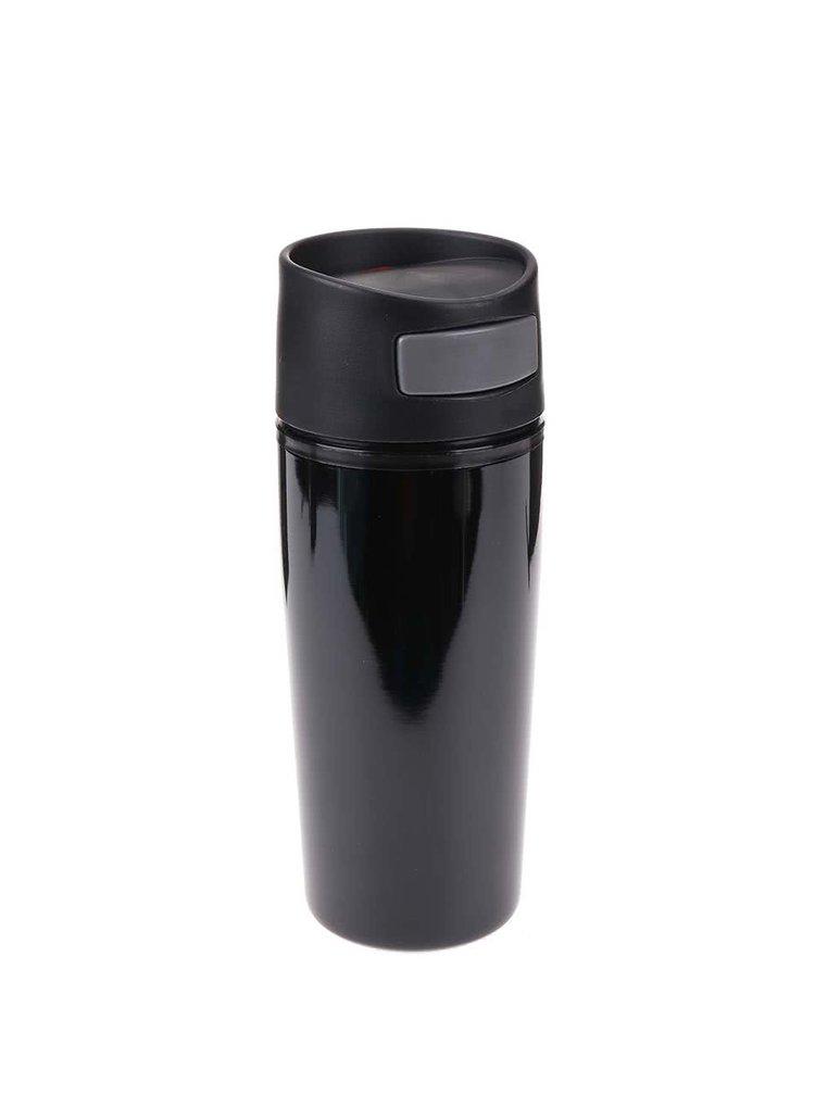 Termohrnek v černé barvě do auta 300 ml XD Design Auto