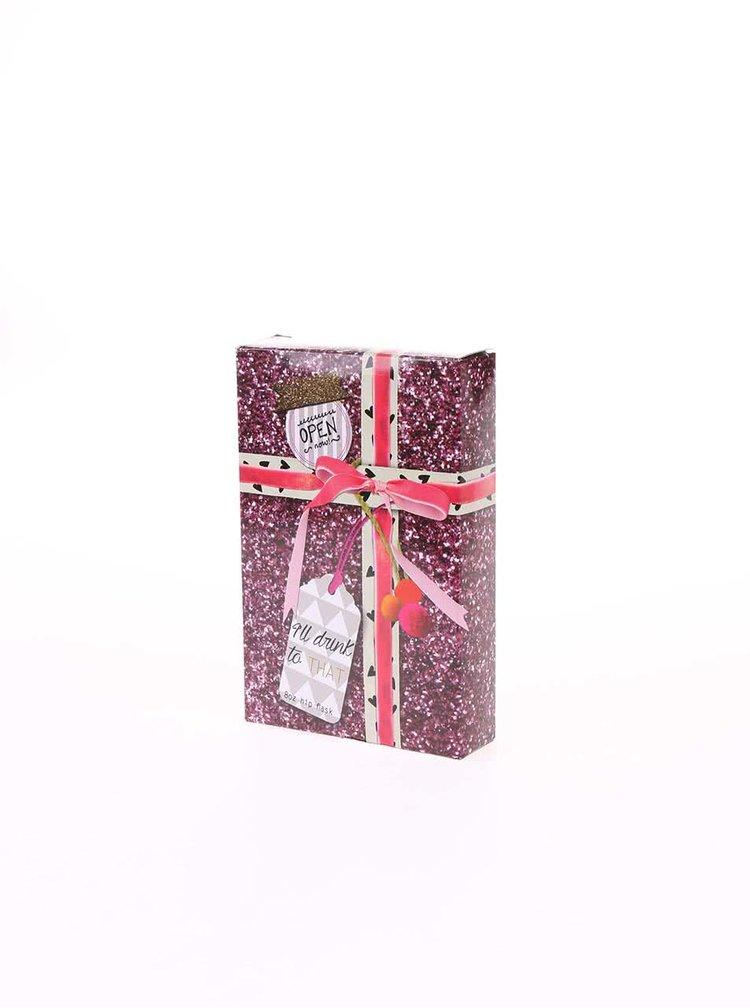 Ružová ploskačka à la vianočný darček Disaster Pom Pom Tutti